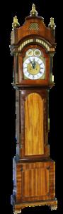 Grandfather clock grey